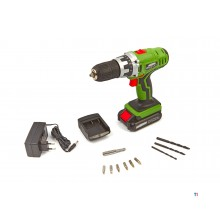 Mannesmann 18V Cordless drill and screwdriver 13mm - 17610