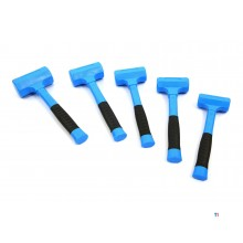 HBM non-recoil hammers with anti-slip fiberglass handle