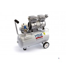 HBM 30 liter professional low noise compressor