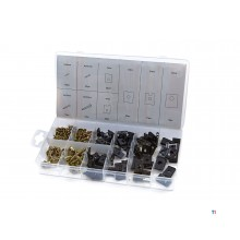 HBM 170 piece assortment parkers and speed nuts