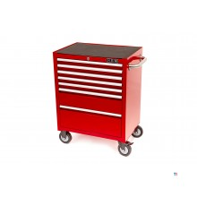 HBM 7 skuffer Deluxe Tool Trolley Red