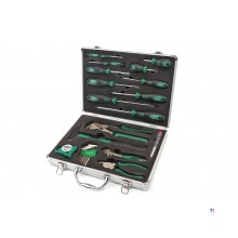 Ensemble d'outils mannesmann 24 pièces dans un coffret en aluminium 29024