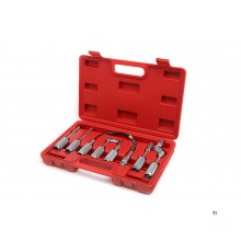 HBM 7 Piece Universal Accessory Set for Grease Gun