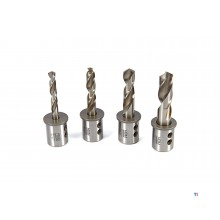 HBM twist drills with weldon mount for magnetic drilling machine