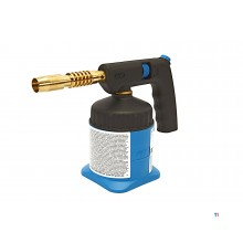 CFH soldering burner pz 5000, incl. 1 gas can with piezo ignition