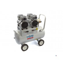 HBM 50 liter professional low noise compressor