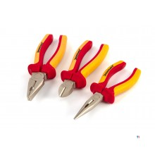 Silverline 3-piece vde pliers set