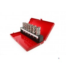 HBM 7-piece hss - cobalt core drill set for stainless steel