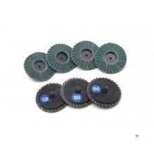 HBM lamella sanding discs