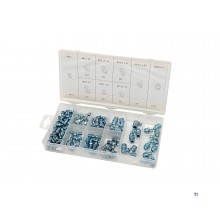 HBM 110 piece grease nipple assortment