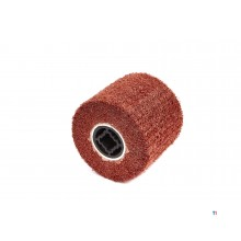 HBM Nylon Web Schuurcylinder voor Satineermachine 100 x 120 mm Grit 80
