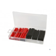 HBM 106 piece waterproof heat shrink tubing assortment