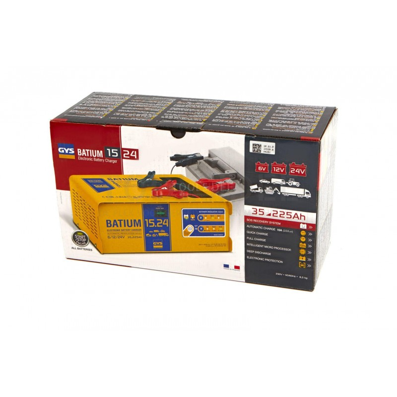 NEW GYS Professional Battery Charger Batium 15//24
