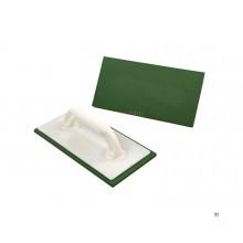 spatola kaufmann 280 x 140 x 10 mm verde