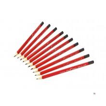 pica 10pcs 545/24 universal pencil 23cm