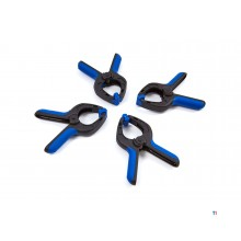 HBM 4 parts 80 mm. Market clamps Assortment