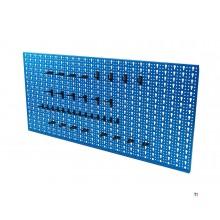 ERRO Steel Tool Panel med 36 kroker