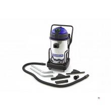 Aspirateur professionnel de chantier en acier inoxydable michelin 2400 watts