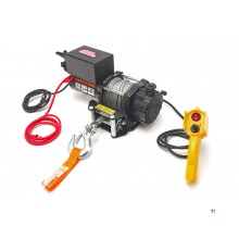 HBM 1800 kg.12 volt bumper winch car winch