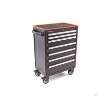 HBM 7 drawers professional tool trolley