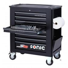 Carrello per attrezzi Sonic Filled S10 heavy duty 460-pcs. nero