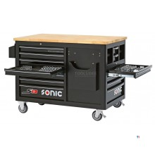 sonic filled tool trolley 540 pcs. s13 black