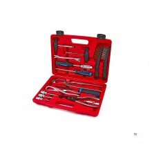 HBM 15-piece tool set for brake drums