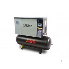 AEG 270 Liter 10 PK Schroefcompressor Met Droger