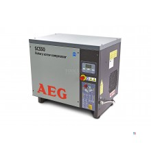 AEG 5.5 HP Screw compressor