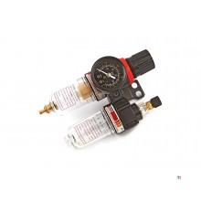 déshumidificateur hbm, régulateur de pression et pulvérisateur d'huile modèle 2