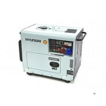 Hyundai DHY8500SE-T 7,0Kw Generatore di corrente diesel, aggregato