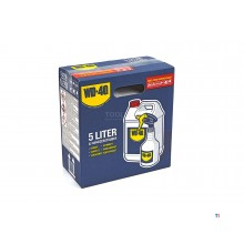 wd40 5 liter can of lubricant + spray applicator