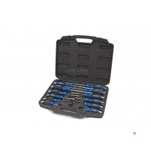 Hyundai 12 Piece Go-Through Screwdriver Set
