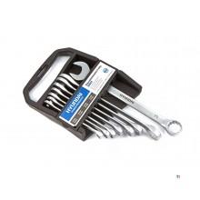 Bague Hyundai 8 pièces - Jeu de clés à fourche 8-19 mm