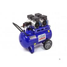 Compressore basso rumore professionale modello HBM da 70 litri modello 2