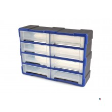 HBM 8 drawers chest of drawers, assortment cabinet, storage system