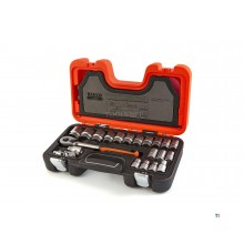 Bahco s240 socket wrench set 24 pcs 1/2