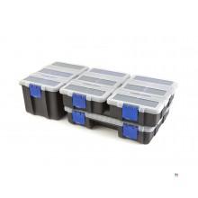 HBM 45 Fächer Schubladenschrank, Sortimentsschrank, Aufbewahrungssystem