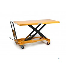 HBM 500 kg. large mobile work table / lifting table