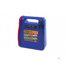 gys gyspack auto start booster, jumpstarer battery booster, 230 v, 12 v, 18 ah