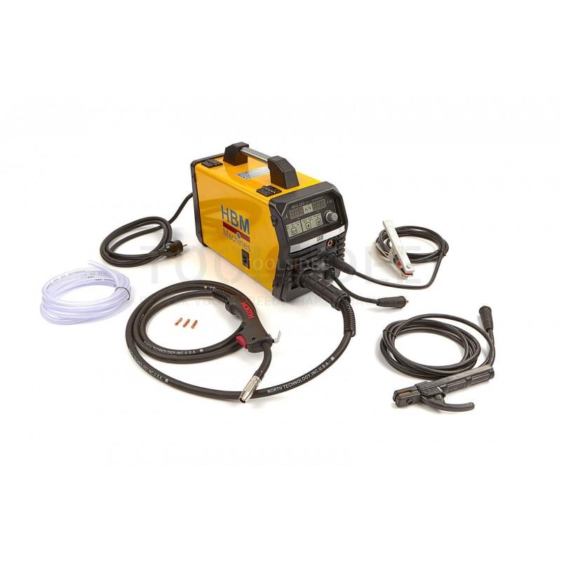 Hbm 200 Ci Synergic Mig Welding Inverter Complete Toolsidee Co Uk