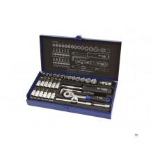 lsr tools Ensemble de douilles industrielles professionnelles de 36 pièces 1/4