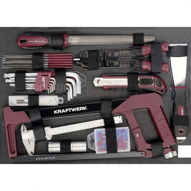 Kraftwerk 1050 Tool Case 228 Piece - toolsidee.co.ukKraftwerk Tools
