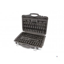 HBM 119-piece professional power socket set metric and inch sizes