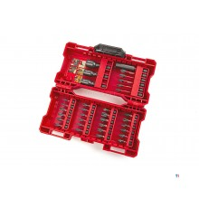 milwaukee 33-piece shockwave screwdriver bit and socket set