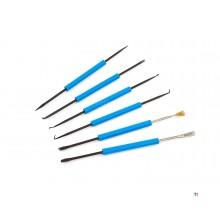 Ensemble d'outils de brosses à souder Silverline, 6 pièces