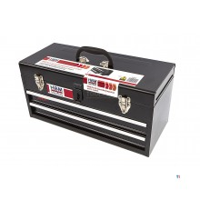 HBM profi tool box, tool box with 2 drawers
