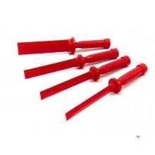 Hbm 4-delad plastskrapset