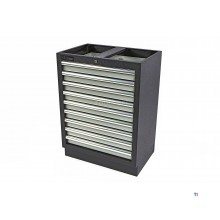 HBM 9 drawers professional tool cabinet for workshop equipment