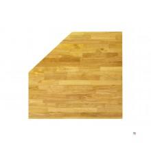 HBM 87 cm Sólido esquina de madera Hoja de trabajo Werkplaatsinrichting